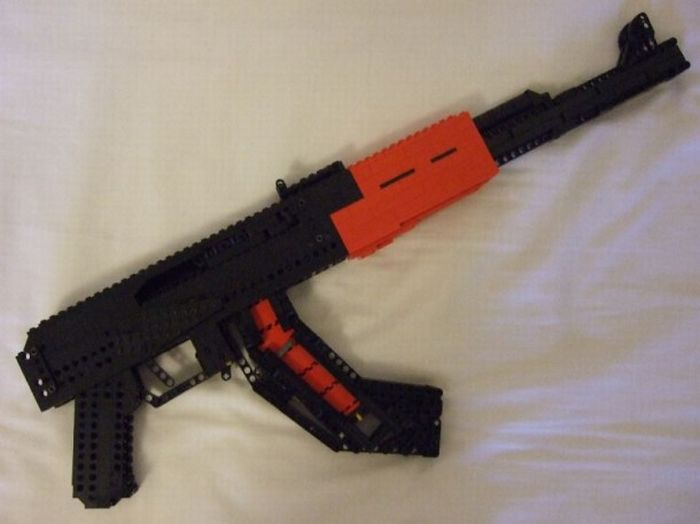 Build Your Very Own AK-74...Out of LEGOs! - BioGamer Girl