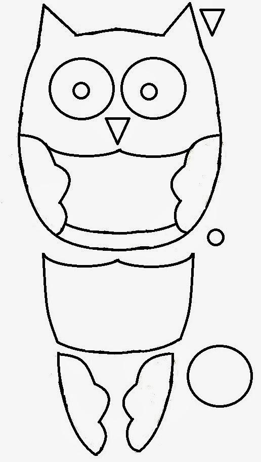 Amber\'s Craft a Week Blog: Felt Owl Ornament
