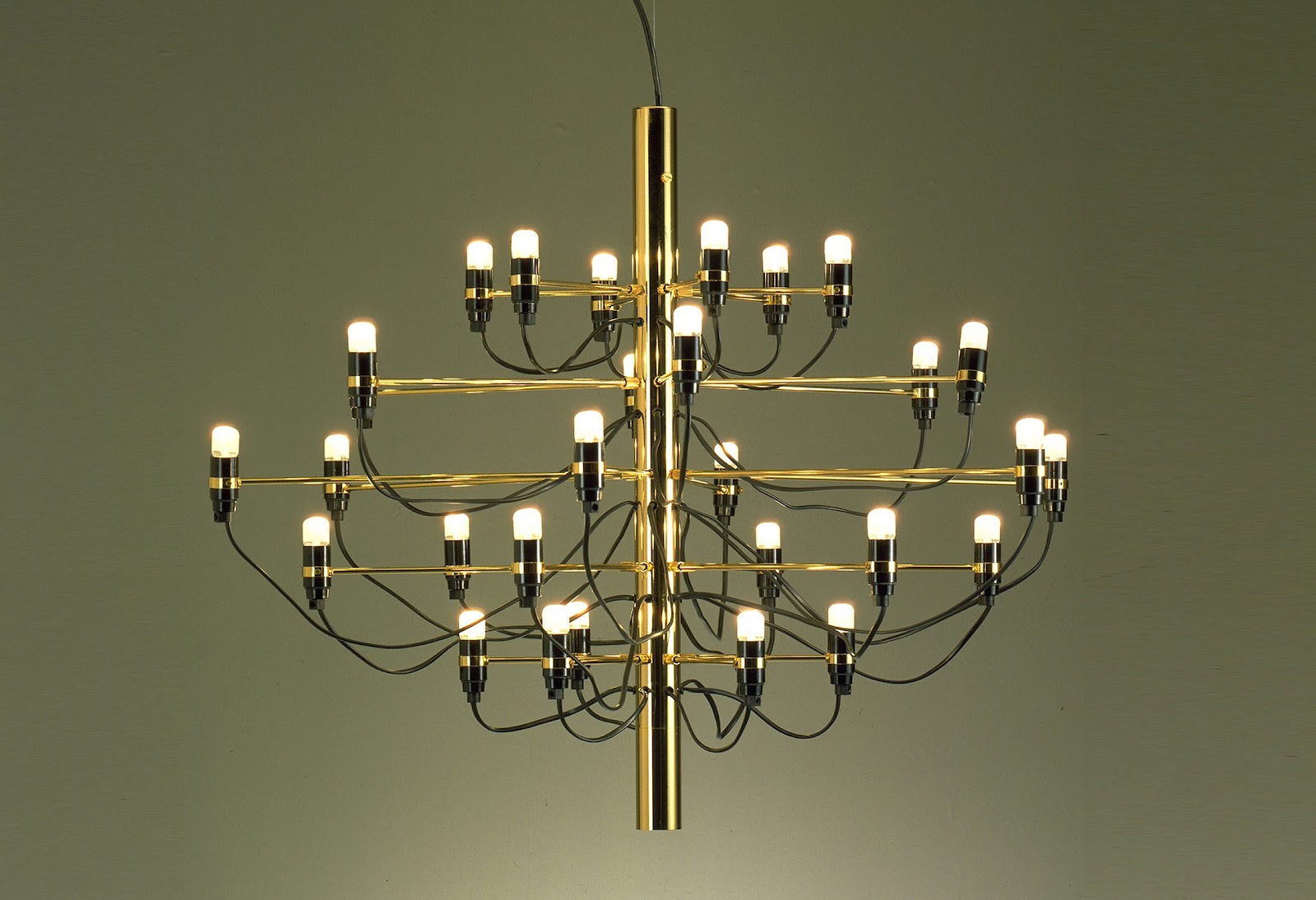 gino sarfatti lighting modern design by