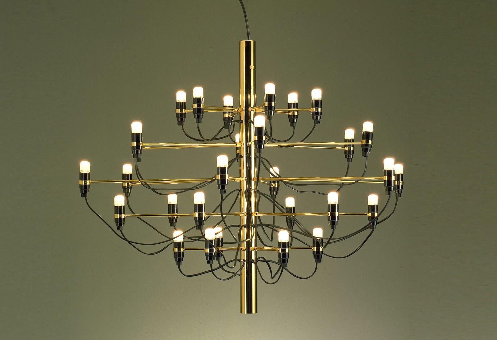 Gino sarfatti lighting modern design by - Designer lights ...