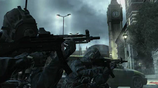 MP5 MW3 London