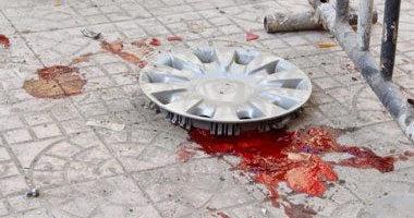 مقطع فيديو، يظهر لحظة الانفجار الذى وقع أمام دار القضاء العالى