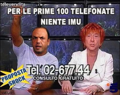 Dopo la dichiarazione di Berlusconi sul rimborso dell'Imu la rete si scatena con fotomontaggi e com