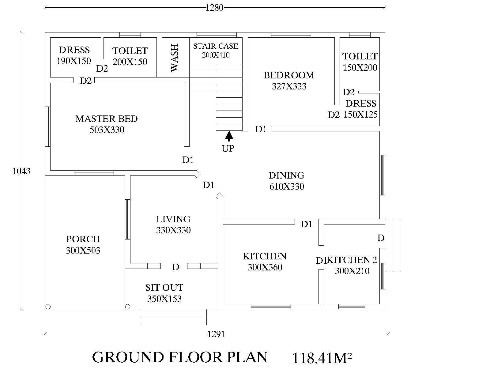 Eight bedroom floor plans bedroom furniture high resolution for Kerala style 4 bedroom home plans