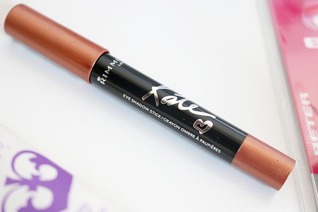 New in: Rimmel Kate Eyeshadow Stick, Rimmel Stay Matte Primer and a sharpener