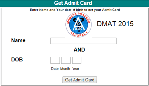 Madhya Pradesh DMAT Admit Card 2015, MP DMAT Exam will be held on 12 July 2015, MP DMAT 2015 Admit Card Download at apdmcmp.com, MP Dental Medical Entrance Test Hall Ticket 2015 Available Now, MP DMAT 2015 Exam Pattern, MP DMAT Hall Ticket 2015, MP DMAT Admit Card 2015 Online