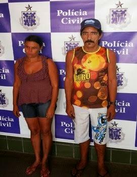 Casal foi preso na última terça (Foto: Maravilha Notícias)
