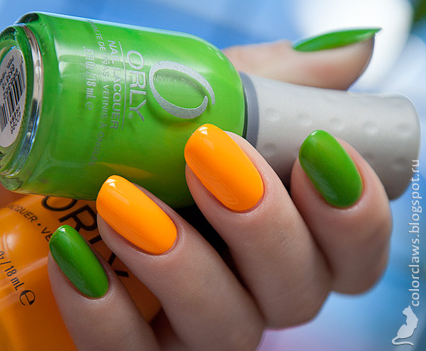 Orly Fresh + Tropical Pop
