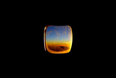 photographing from an air plane