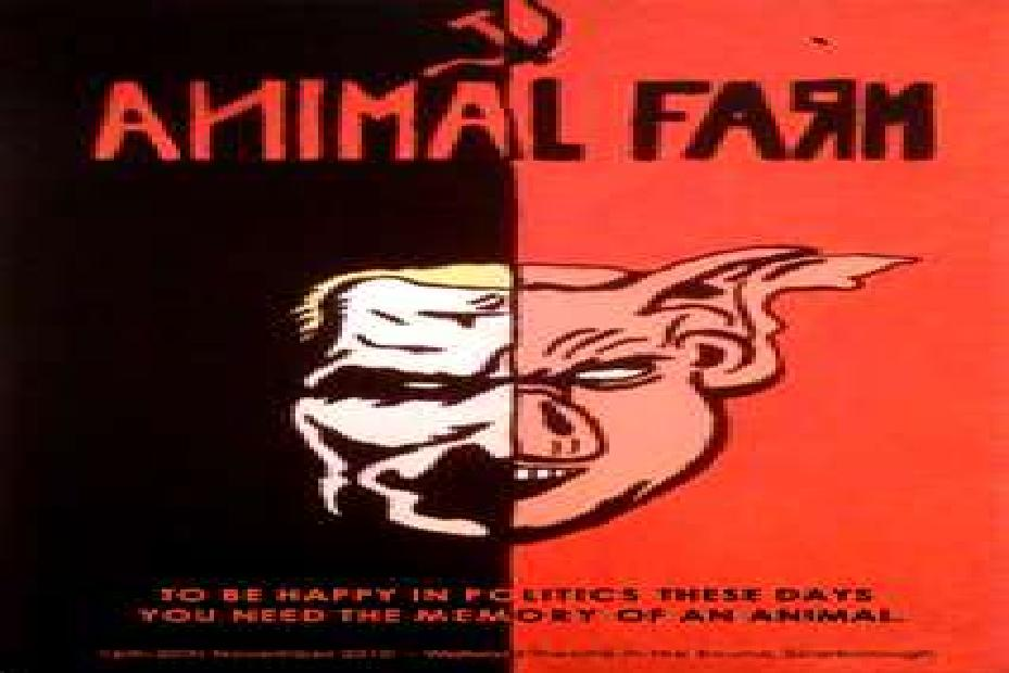 Animalism Propaganda Animal Farm animal farm (4u)
