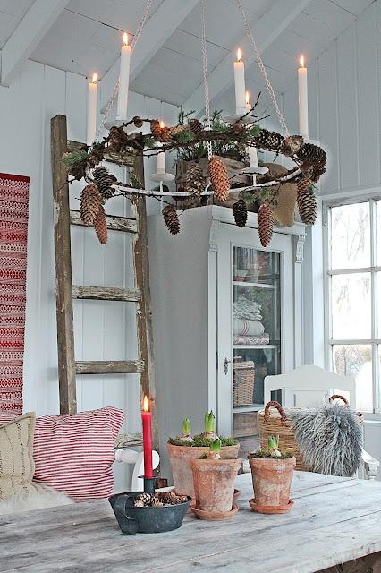 Vibeke design jul i orangeriet - Schaufenster weihnachtsdeko ...