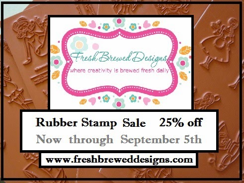 25% OFF RUBBER STAMPS