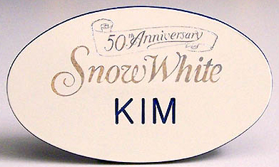 50th anniversary name tags