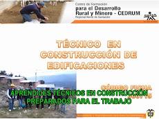 TÉCNICOS EN CONSTRUCCIÓN DE EDIFICACIONES