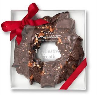 Hotel Chocolat Christmas wreath