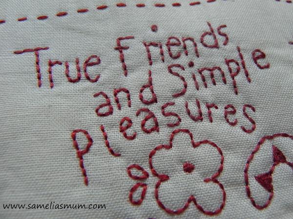 True Friends and Simple Pleasures