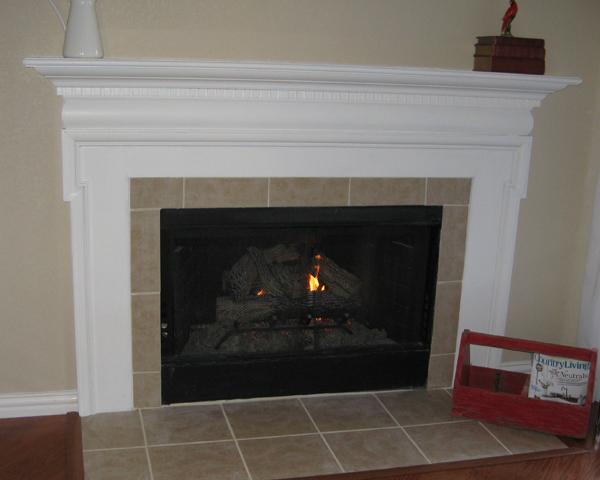 Brookhollow Lane: Fireplace Mantle Redo