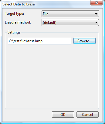 Select file to delete
