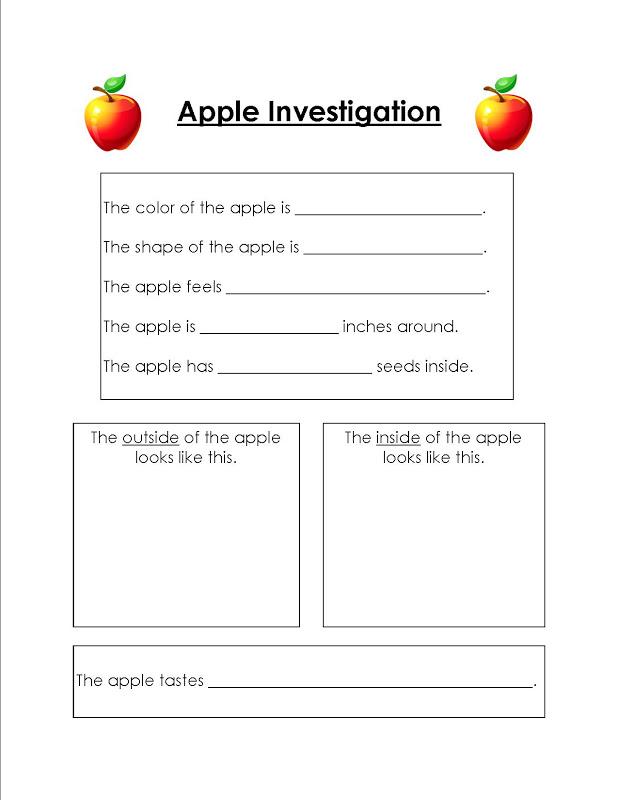 apple science experiment observation worksheet apple best free printable worksheets. Black Bedroom Furniture Sets. Home Design Ideas