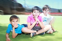 Rubén, Joel y David
