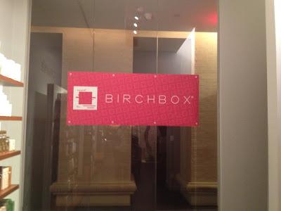 Birchbox Event at the Caudalie Spa