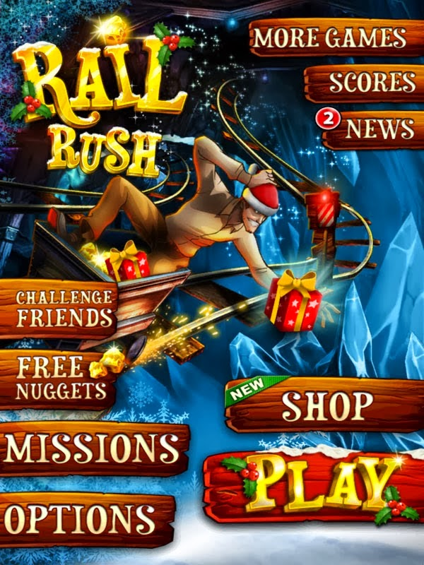 Rail Rush Hack Unlimited Nuggets Unlimited Pass (All versions)