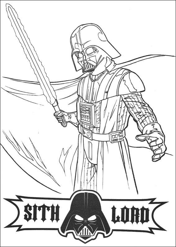 Free Colouring Pages Star Wars : Kids under star wars coloring pages