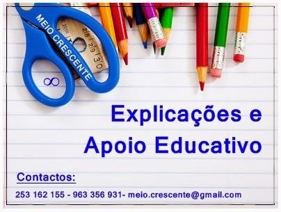 Explicações/Apoio educativo