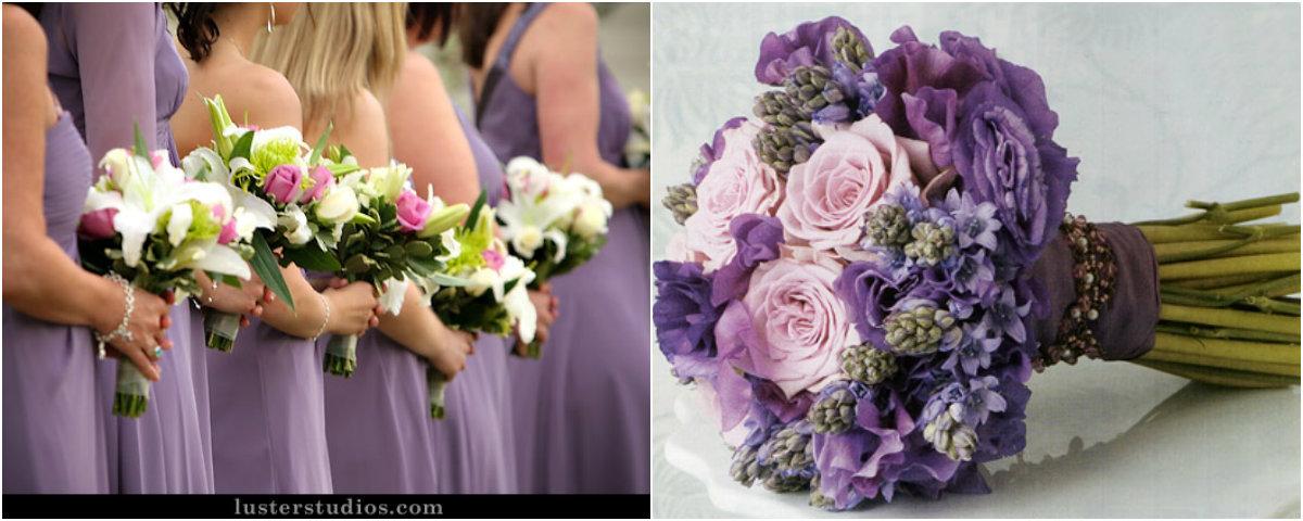 Decoração De Casamento Em Lilás E Branco Muito Elegante Pictures to