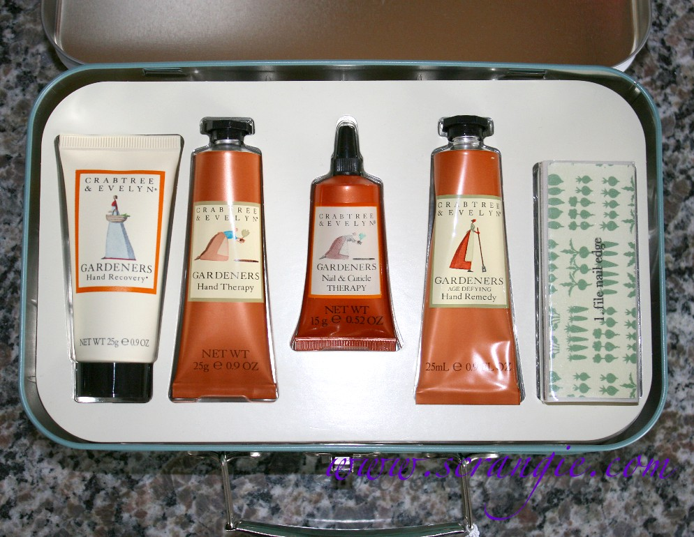 Scrangie Hand and Nail Care Gifts from Crabtree and Evelyn