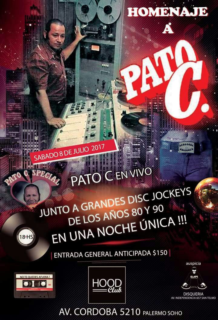 Evento Imperdible, Todos por Pato C