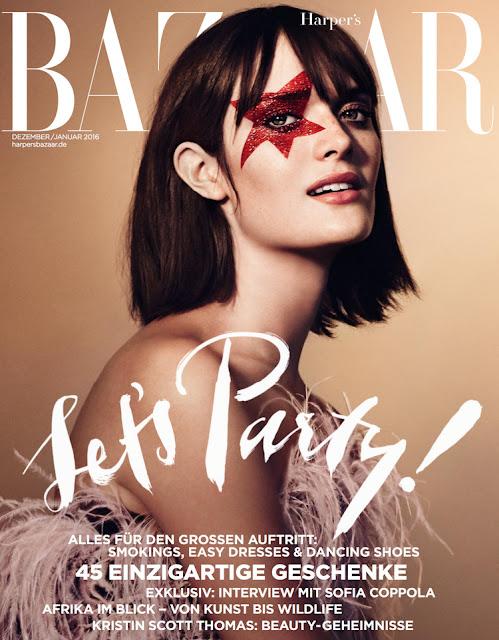 Model @ Sam Rollinson for Harper's Bazaar Germany, December 2015/January 2015