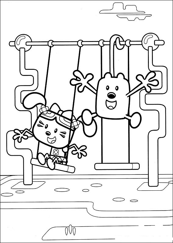 wa wa wubbzy coloring pages - photo #39