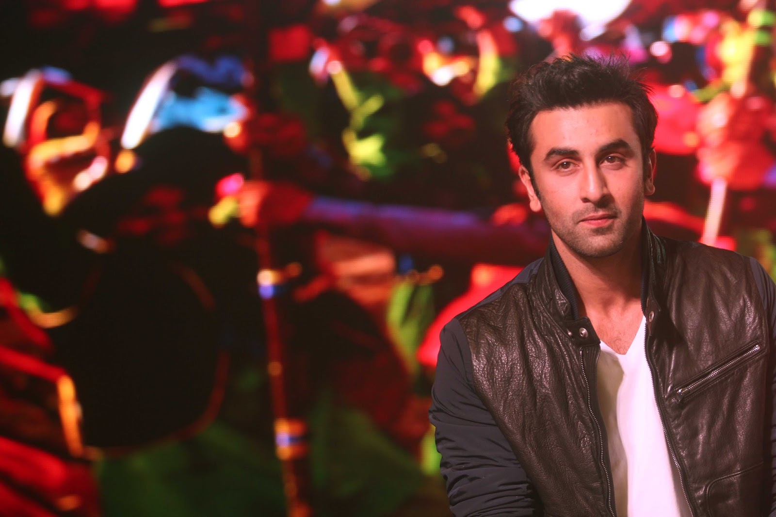 Ranbir Kapoor at the launch of song 'Aare Aare' from movie ...