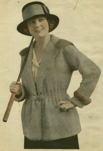 The Vintage Pattern Files - Free 1910's Knitting & Crochet Patterns - Handbook of Wool Knitting & Crochet