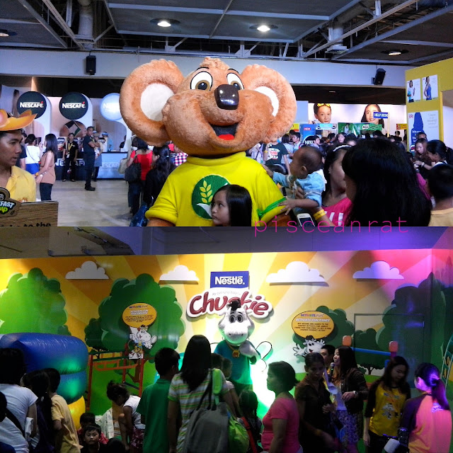 nestle expo 2015 prizes, nestle mascot, sm megamall megatrade july 4 to 5 2015,