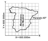 Coordenadas proyección conica lambert