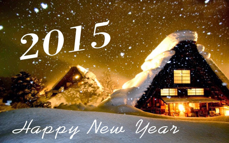Happy New Year 2015 HD Cards