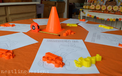 Construction Party Games and Activities