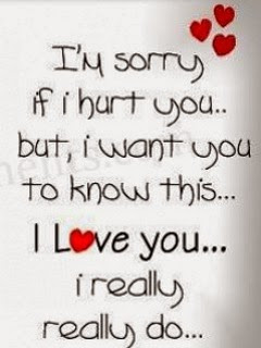 Sorry quotes for her from the heart