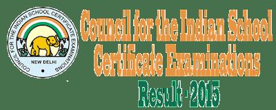 ICSE 10th Examination Results 2015