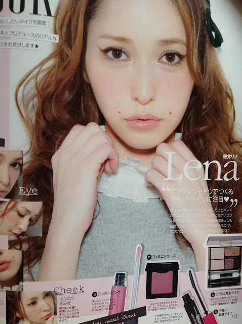 curls and mindy: Japanese Fashion Magazine ViVi + clutch ...
