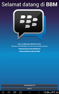 Cara Install BBM Android di Tablet Samsung Galaxy Tab