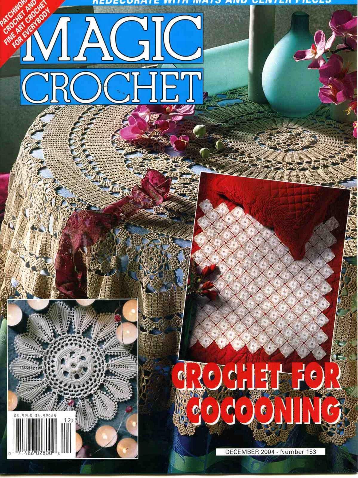 Magic Crochet : Magic Crochet No. 153 ~ Free Crochet Patterns