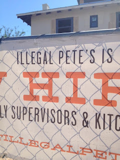 Dr Cintli: ILLEGAL PETE'S MEXICAN RESTAURANT: CHANGE NAME OR SHUT IT DOWN