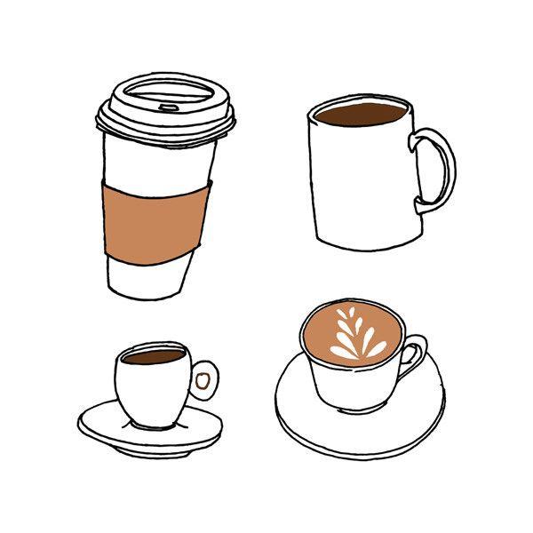 nunca es tarde por una buena taza de café!