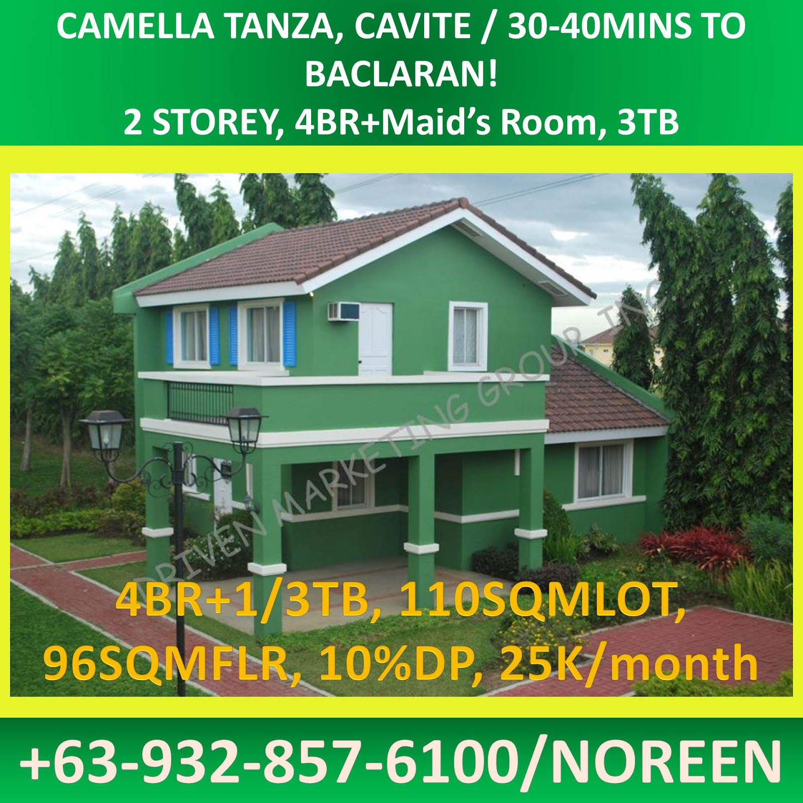 Camella homes house and lot near tagaytay city - Cheap House And Lot Single Detached Tanza Cavite Camella Vigattin Trade
