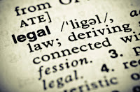 define definition words law