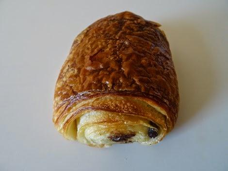 Le pain au chocolat de la boulangerie Vandeermesch.