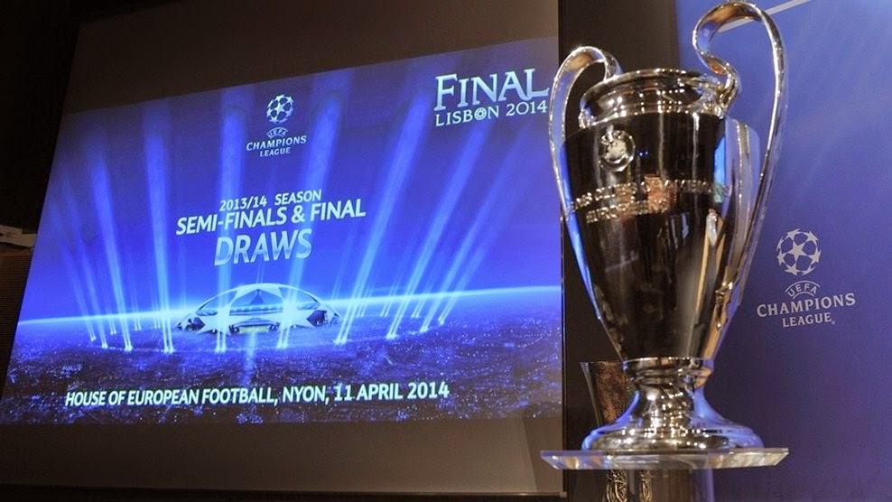 Sorteo semifinales UEFA Champions League con resumen de cuartos ...